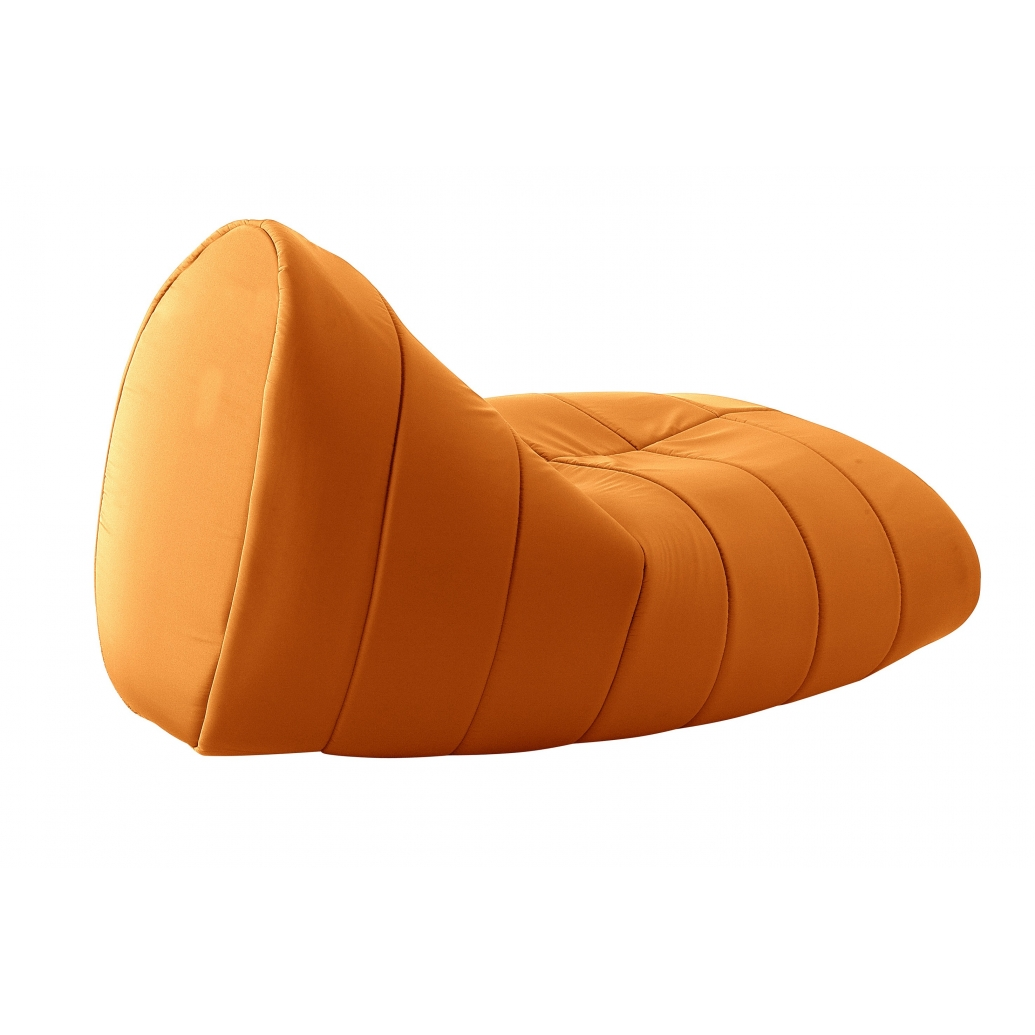 "Gartensitzsack ""Sitt"" aus Vinyl, orange"