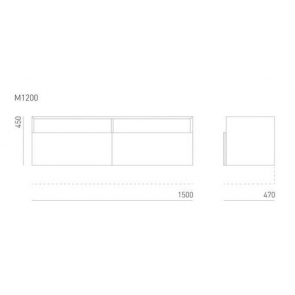 Sideboard S M1200
