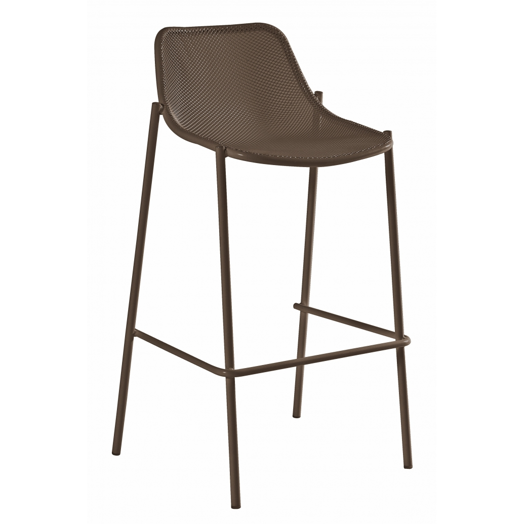Round outdoor barhocker von emu in verschiedenen for Barhocker outdoor